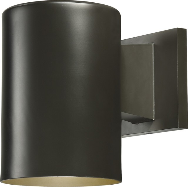 Modern Exterior Wall Mounted Lights : 1-Light Exterior Wall Mount - Contemporary - Outdoor Wall Lights And Sconces - by Volume Lighting