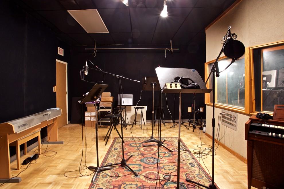Recording Studio Acoustically Designed