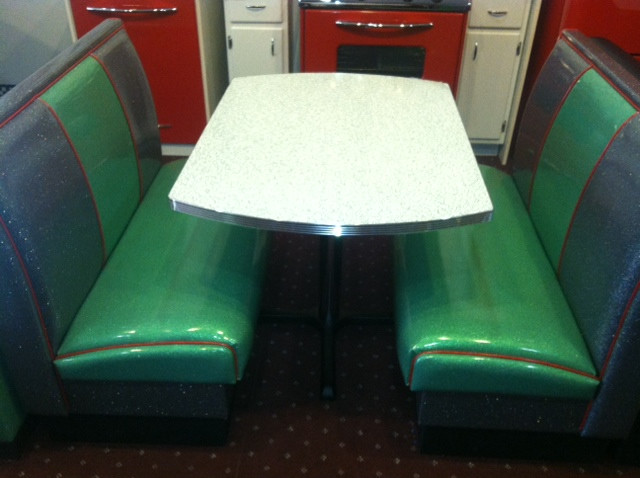 Bars And Booths Custom Deco Diner Dining Boothseclectic Dc Metro