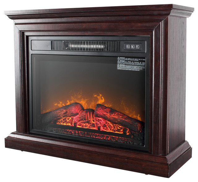 1400W Indoor Fireplace Heater With Remote
