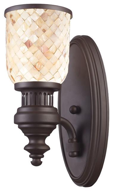 Elk Lighting 66430 1 Chadwick Light Wall Sconce