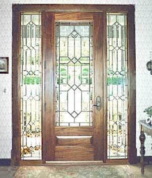Front Door In Process 1910 House