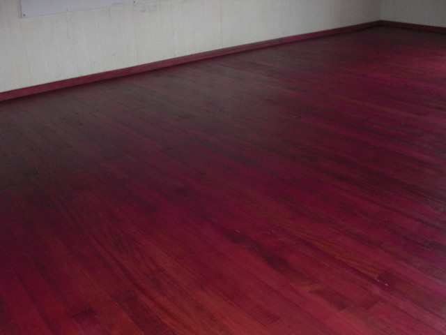 Purple heart solid wood floor modern other by simply for Purple heart flooring