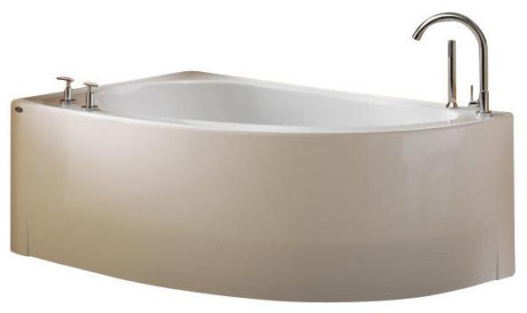 60 X36 Wind Acrylic Corner Bathtub Soaker