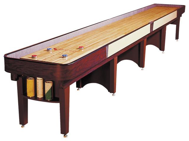 Ambassador Shuffleboard Table By Venture Games, 12u0027