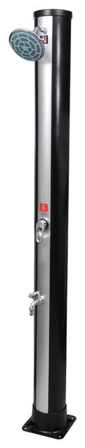 10&x27; Crank Tilt Aluminum Patio Umbrella, Beige