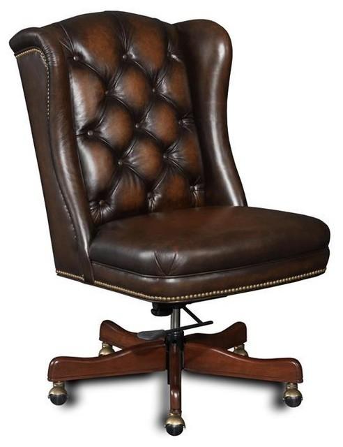 Hooker Furniture Executive Chair, Dark