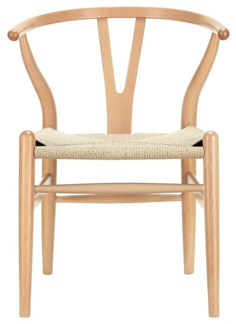 Beechwood Furniture Exterior modway amish dining arm chair, walnut  midcentury  dining chairs