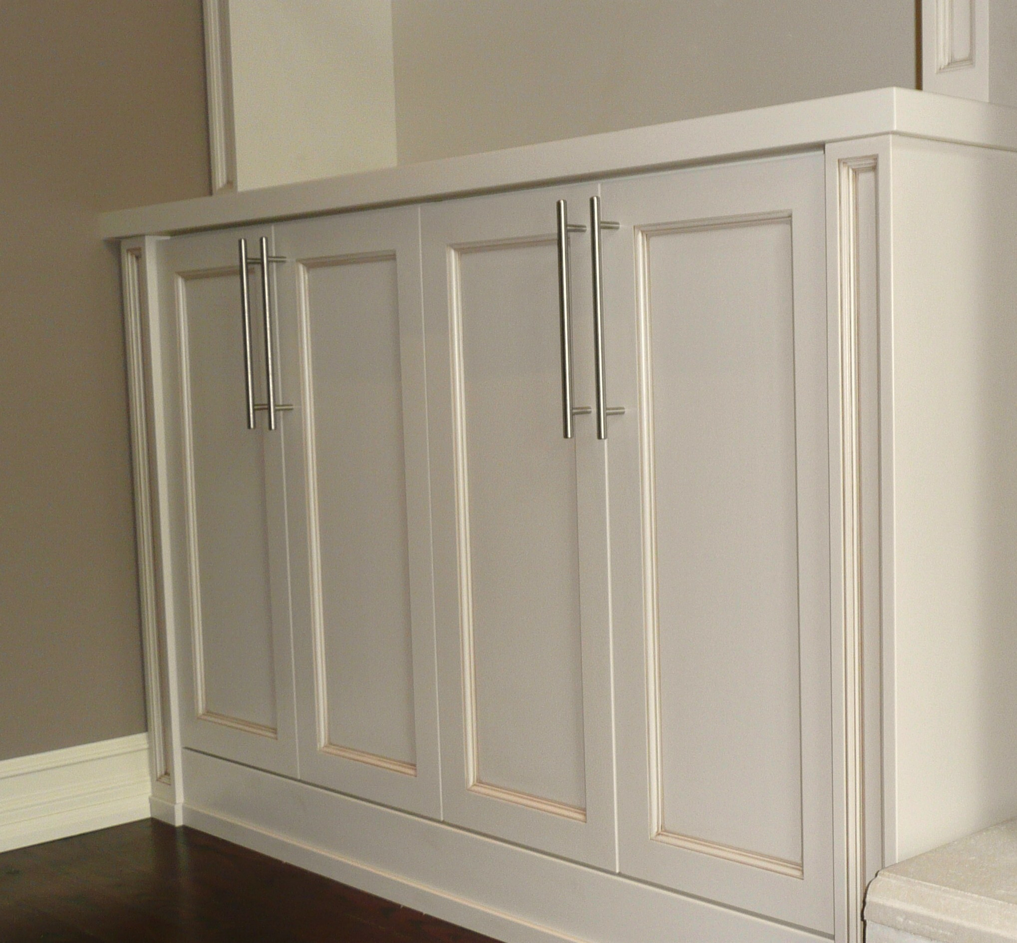 Built-in Units around Fireplace