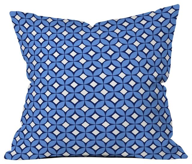 Deny Designs Ingrid Padilla Turquoise Area Rug Reviews: Caroline Okun Blueberry Outdoor Throw Pillow
