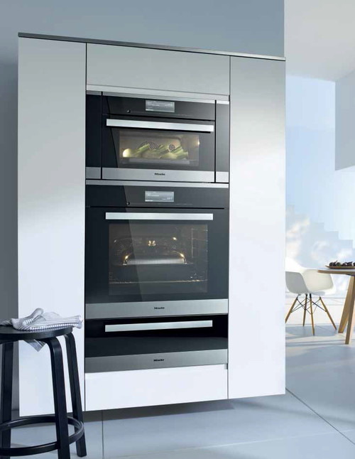 question about miele plumbed combi steam oven and water. Black Bedroom Furniture Sets. Home Design Ideas