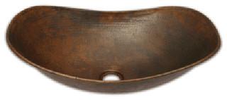... Vessel Sink - Traditional - Bathroom Sinks - by Copper Sinks Direct