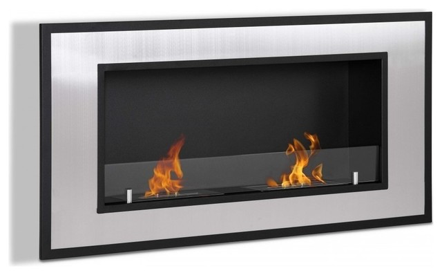 Ignis Belezza, Built-In Wall Mounted Ethanol Fireplace, Wmf-023.