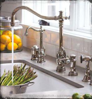 Waterstone annapolis kitchen faucet kitchen faucets - Kitchen sinks san diego ...