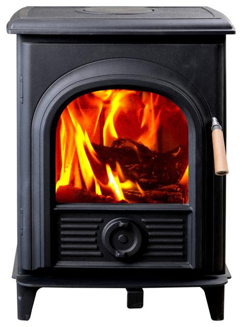 Hiflame Shetland Hf905u Epa Approved 800 Sq. Ft. Wood Stove Black.
