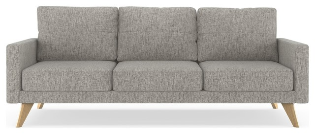Cayden Sofa Pebble Weave, Heathered Taupe.