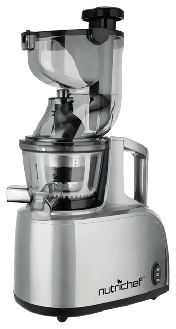 Shop Houzz NUTRICHEF Countertop Masticating Slow Juicer and Drink Maker - Juicers