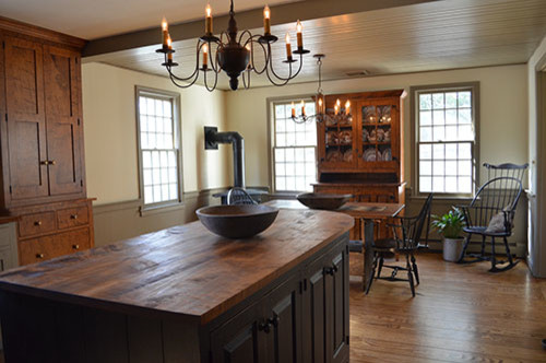 Boston Saltbox Kitchen - Traditional - Boston - by The Workshops ...