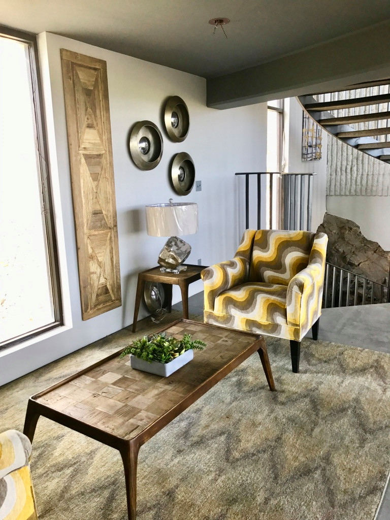 Inspiration for an industrial home design remodel in Phoenix