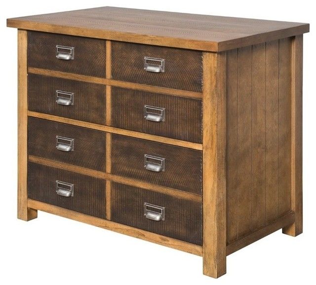 Martin Furniture Heritage Lateral File Cabinet Hickory