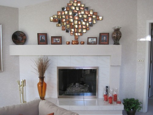 Remodeling a fireplace: From Drywall to Stone