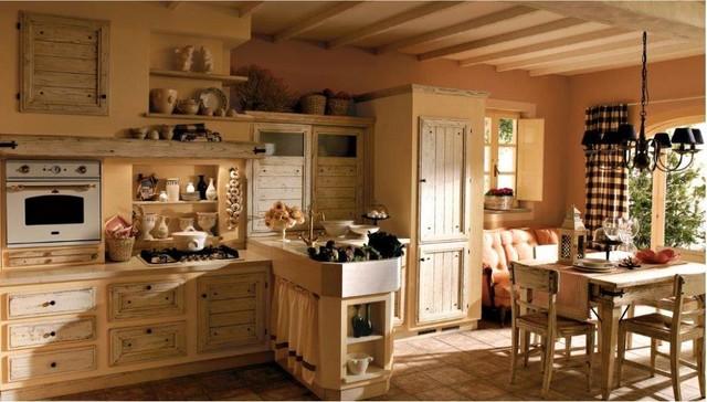 Cucine rustiche piastrellate o in muratura in campagna milano di cordel s r l arredamenti - Cucine di campagna ...