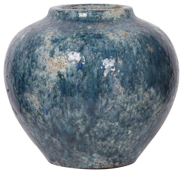 Firth Vase, Blue, Medium