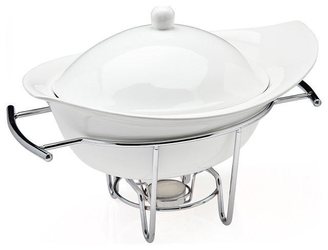 Natura 1 Qt Warmer Contemporary Chafing Dishes By