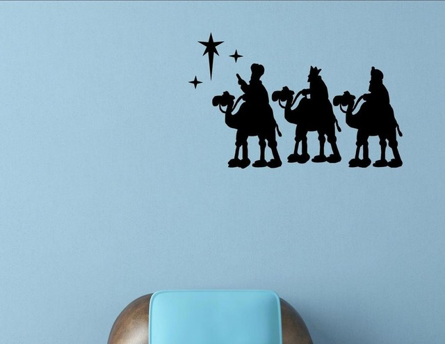 Three Wise Men, Wall Decor Stickers Contemporary Wall Decals Part 71