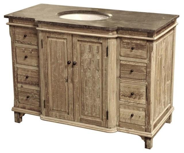 "46"" Reclaimed Pine Single Bath Vanity"