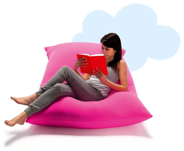 Big Pink Floor Pillows :