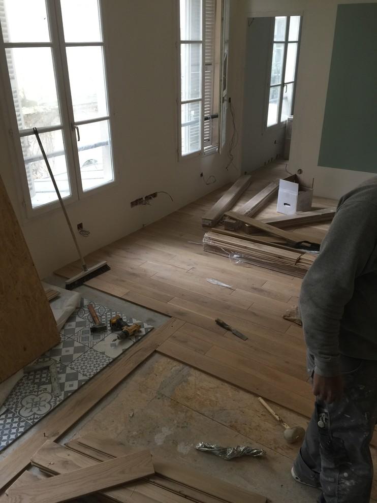 Avant/ Apres Rénovation d'un 30m2 Parisien