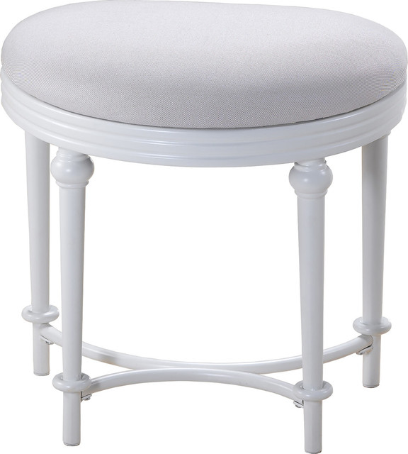 Cape May Vanity Stool Traditional Vanity Stools And