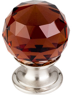 Crystal knob traditional cabinet and drawer knobs by knobbery dot com llc - Contemporary cabinet knobs wine locker ...