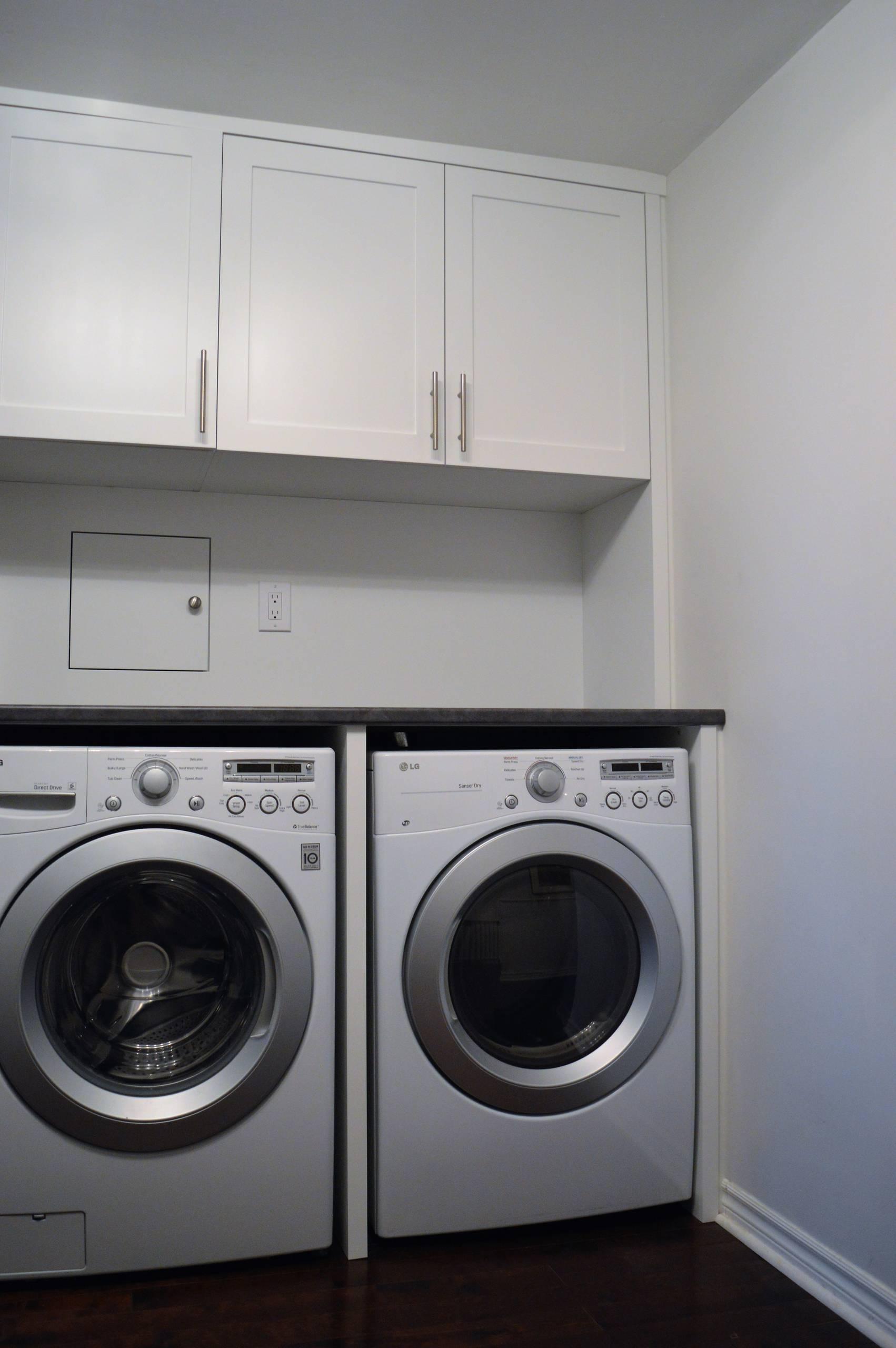 New Customized Laundry Area
