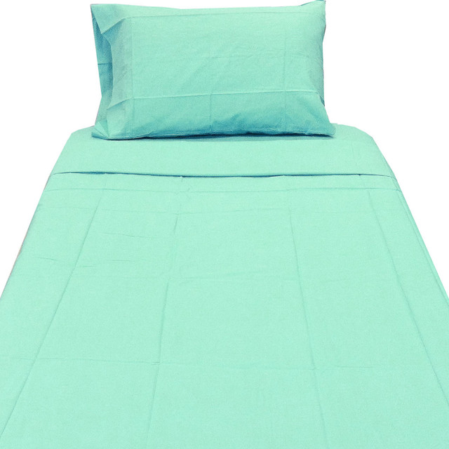Light Turquoise Full Sheet Set Blue Bedding