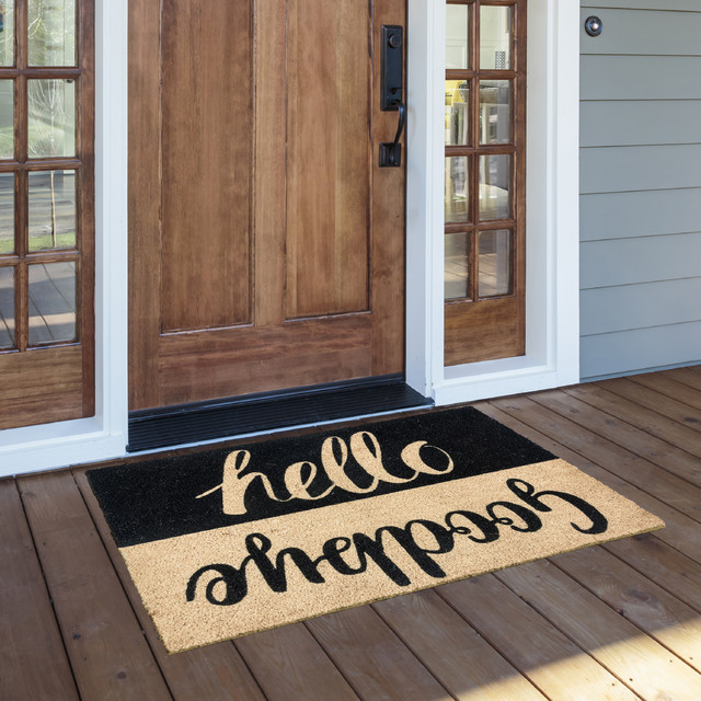 "Adele 24""x36"" Coir Doormat by Kosas Home"