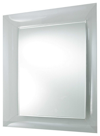 Francois Ghost Mirror, Large, Crystal.