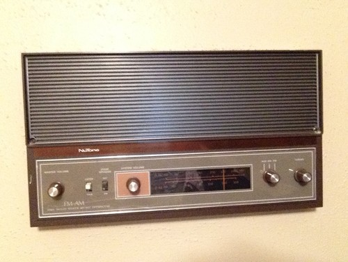 what to do with a 1970s home stereo intercom system