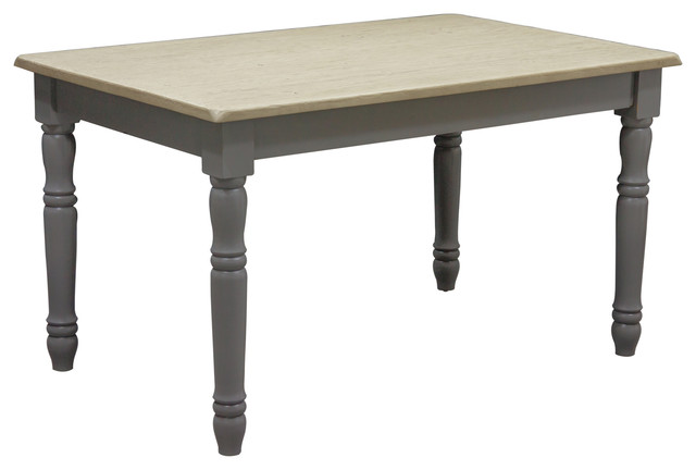 Superior Pine And Albasia Wood Country Dining Table Traditional Dining Tables