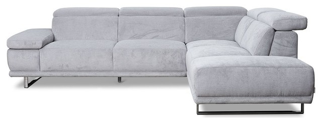 Herlig Right Sectional, Stone R68.