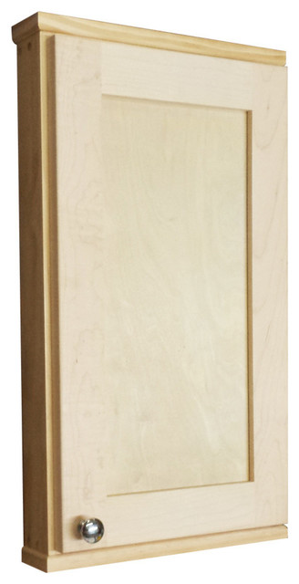 Danville Series On-The-Wall Spice Cabinet - Contemporary - Medicine Cabinets - by WG Wood Products
