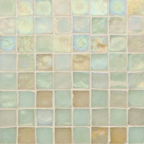eclectic bathroom tile Oceanside Glasstile - Tessera Sandstone