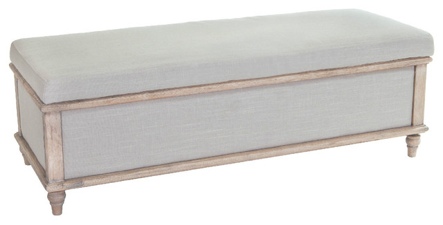 Contemporary Footstools And Ottomans - Bedroom Storage Ottoman