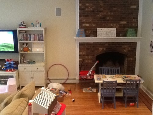 Help Fireplace In An Awkward Corner In The Playroom