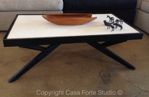Castro convertible table circa 1960s It is a coffee table and a