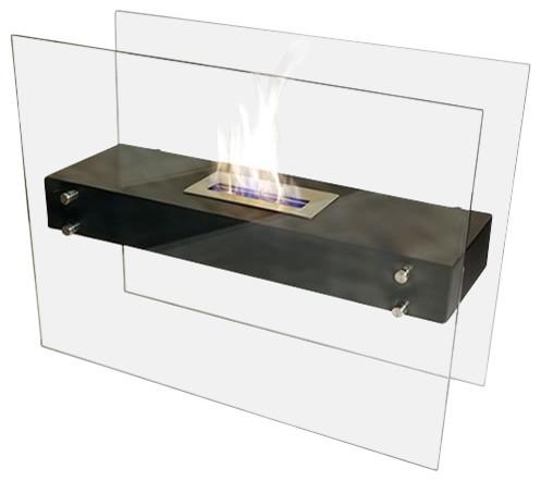 La Strada Indoor Freestanding Ethanol Fireplace