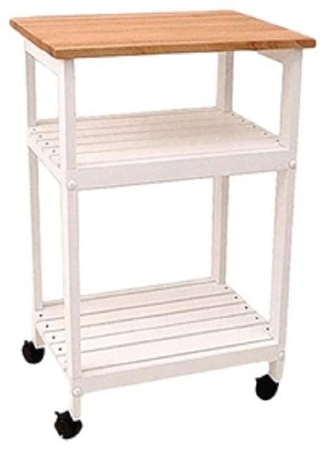 White Kitchen Microwave Cart Transitional Kitchen Islands And Kitchen Carts By Imtinanz Llc Houzz