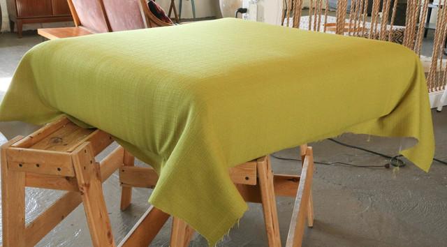 Upholstered Pallet Ottoman
