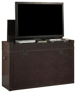 """Touchstone Ellis Trunk TV Lift Cabinets For Up To 46"""" Flat Screen TVs - Traditional ..."""